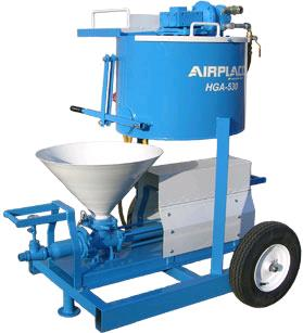 Where to find GROUT PLANT AIR POWERED MIXER AND PUMP in