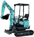 Where to rent MINI EXCAVATOR ELECTRIC 480V 3PH. 50AMP in  New Jersey