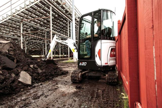 Where to find BOBCAT E20 MINI EXCAVATOR in