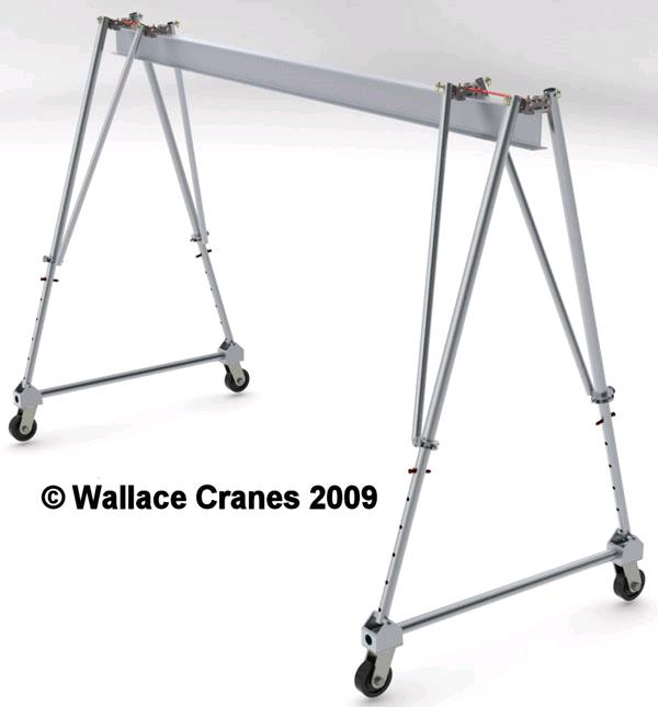 Where to find GANTRY 2 TON CAP. ALUMINUM W TROLLEY in